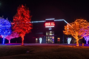 Holiday 2015 Lights at Above All Air Sports