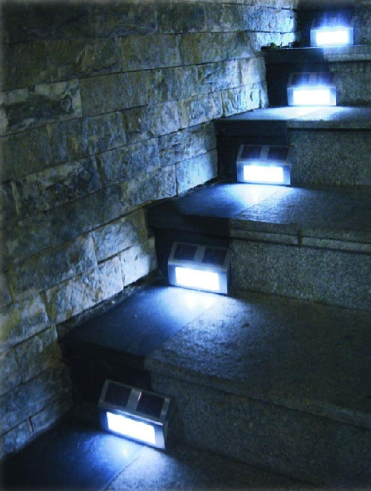 Solar step lighting is too cool of a color temperature