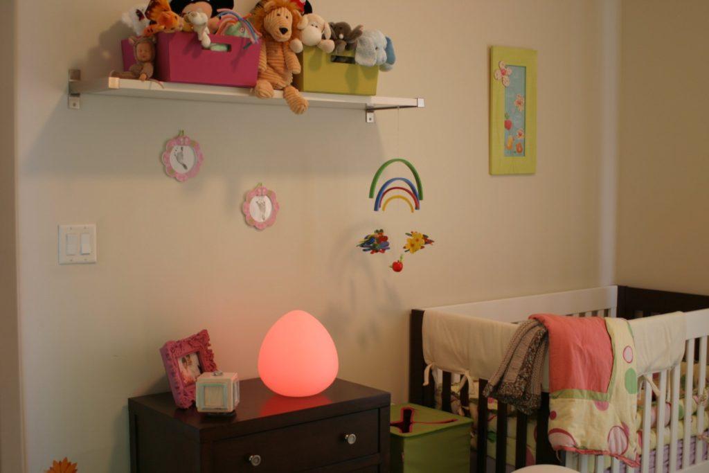 LED Stone Lamp Glow Ball Nightlight