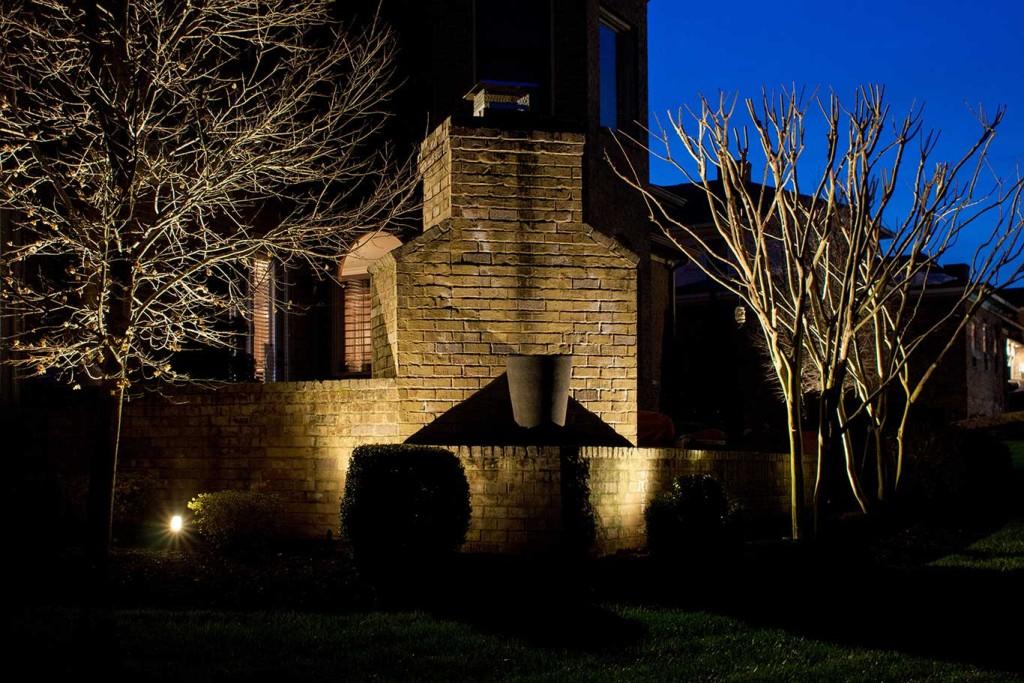 Brentwood lighting outdoor kitchen & fireplace lighting