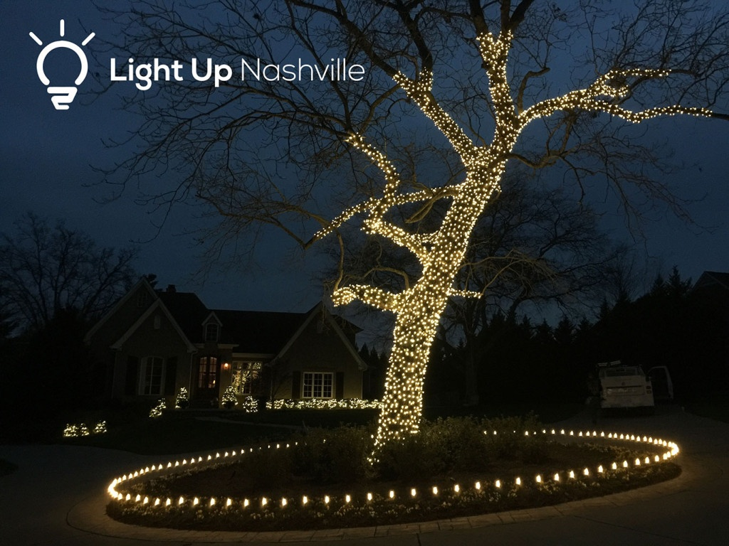 permanent decorative tree wrap