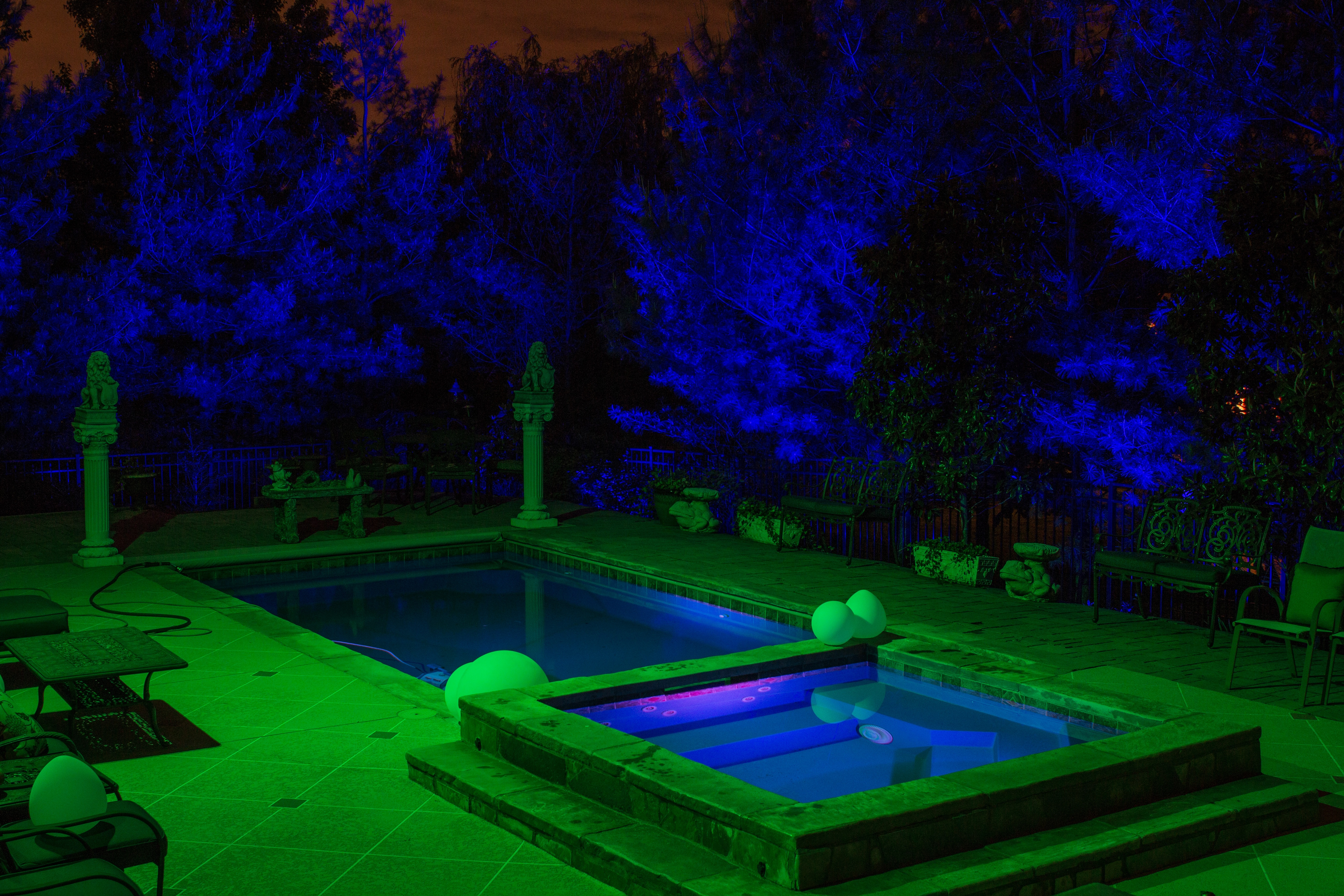Luxor ZDC Outdoor Color Changing Lighting System