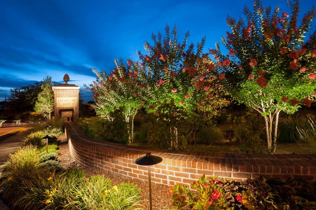 Why your hoa needs a professional outdoor lighting designer outdoor lighting system at hoa nashville mozeypictures Image collections