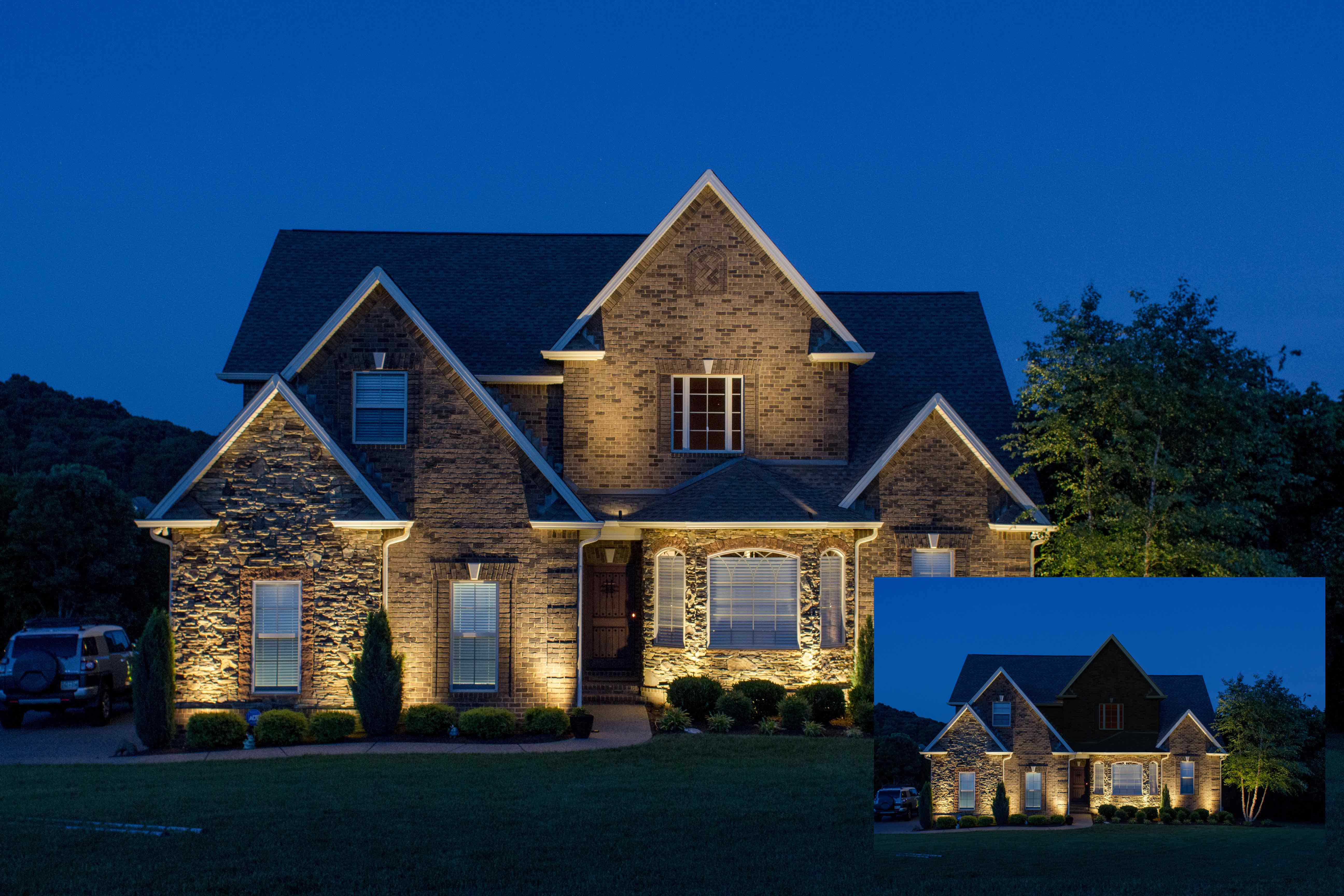 How To Solve Accent Lighting Challenges On Two-Story Homes